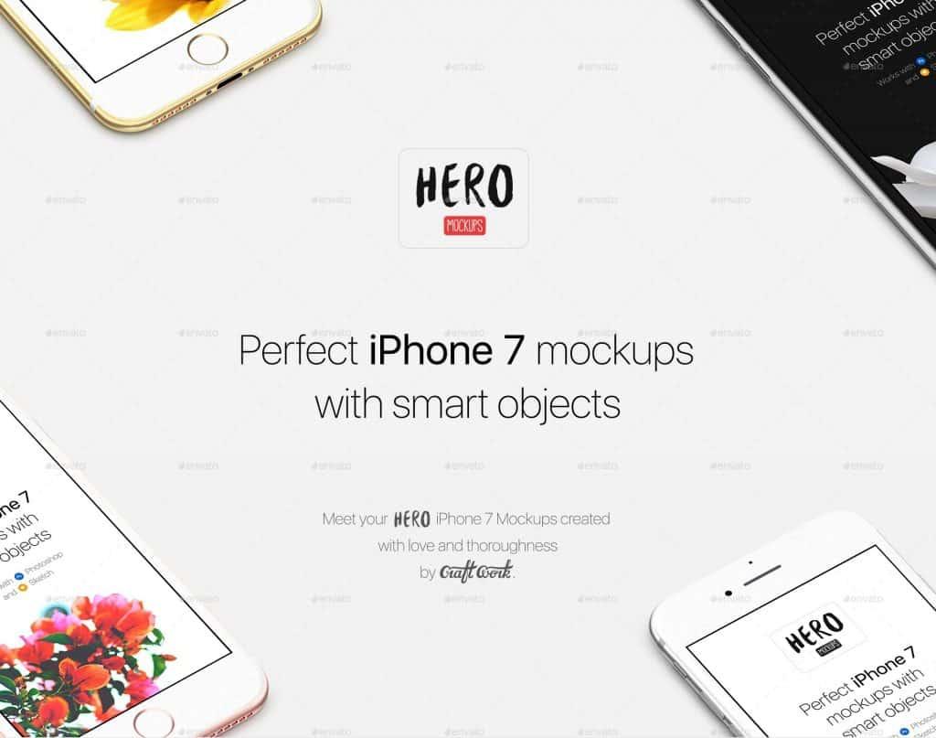 Best iPhone 7 Mockup For Graphic Designer 2