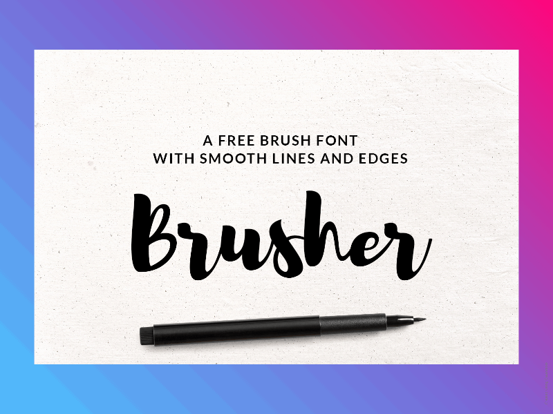 21+ Best Free Handwritten Fonts For Any Purpose Use 5
