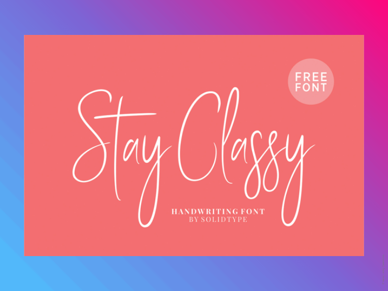 21+ Best Free Handwritten Fonts For Any Purpose Use 13