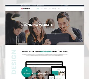 Best Free PSD Website Templates 5