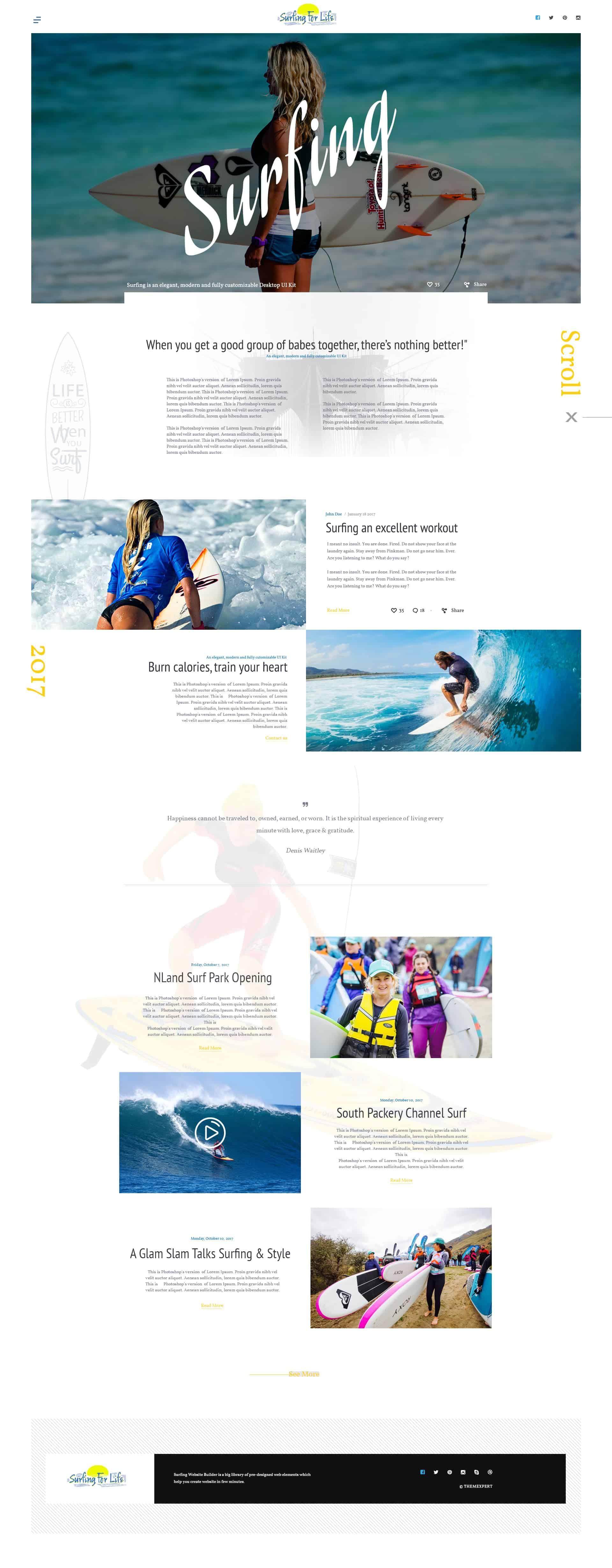 Surfing For Life Free PSD Resources 1