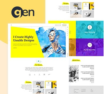 Best Free PSD Website Templates 4