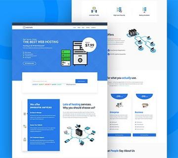 Best Free PSD Website Templates 3