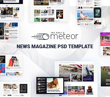 Best Free PSD Website Templates 5
