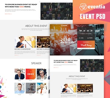 Best Free PSD Website Templates 6
