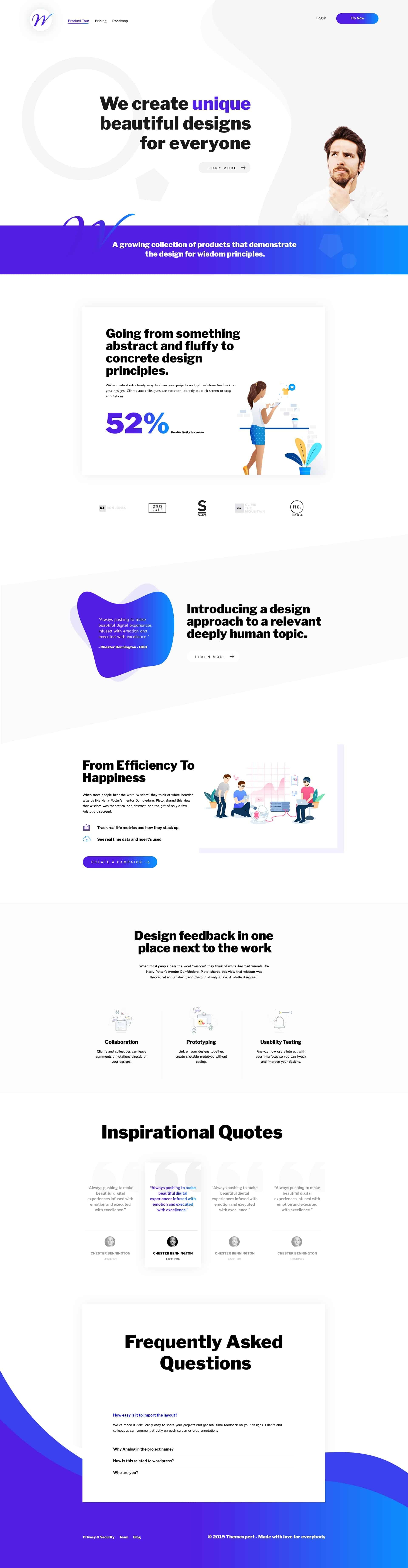 Creative Agency Template 1