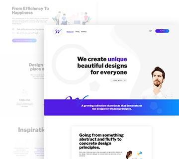 Best Free PSD Website Templates 4