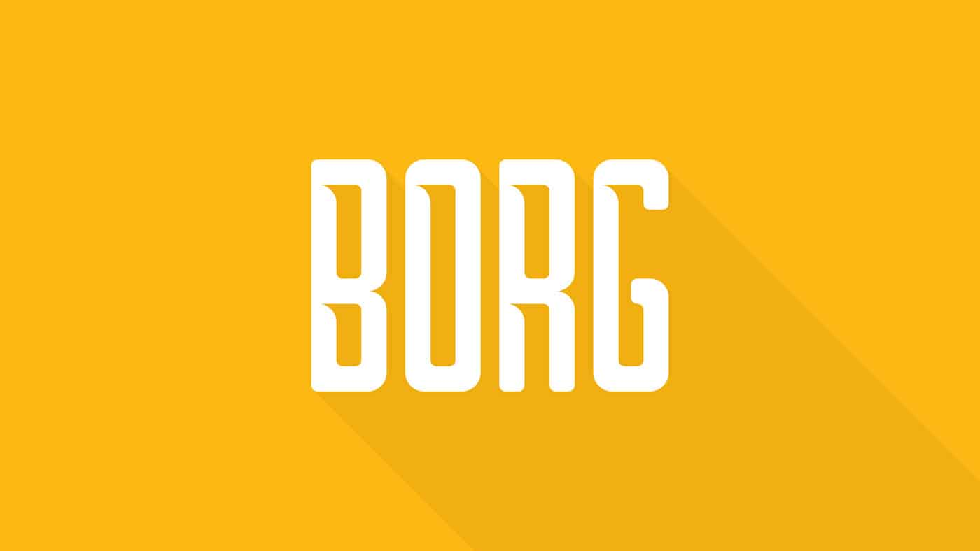 Borg Typeface (FREE) 1