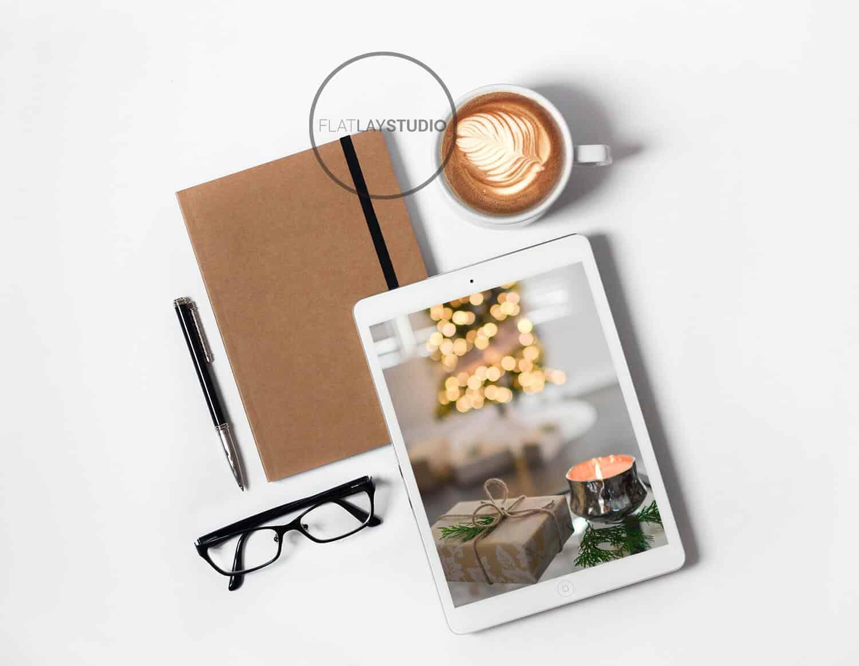 Ipad + Journal Mockup 2