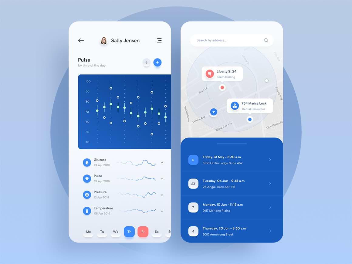 Pharmagy - Medical App UiKit for Sketch 3