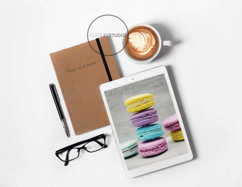 Ipad + Journal Mockup 4