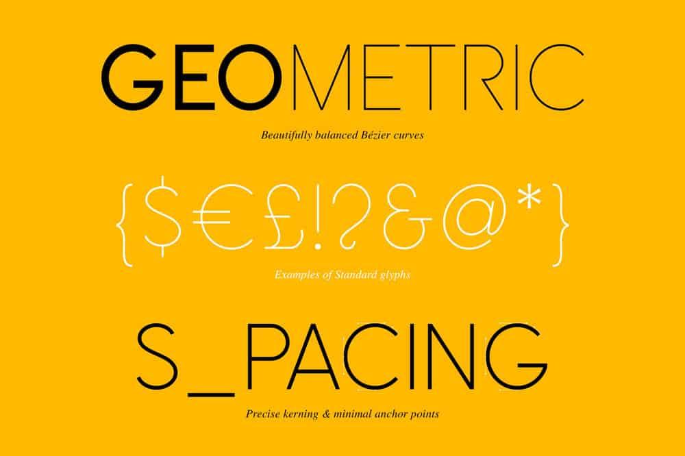 Omega Sans: A classic sans-serif font 7