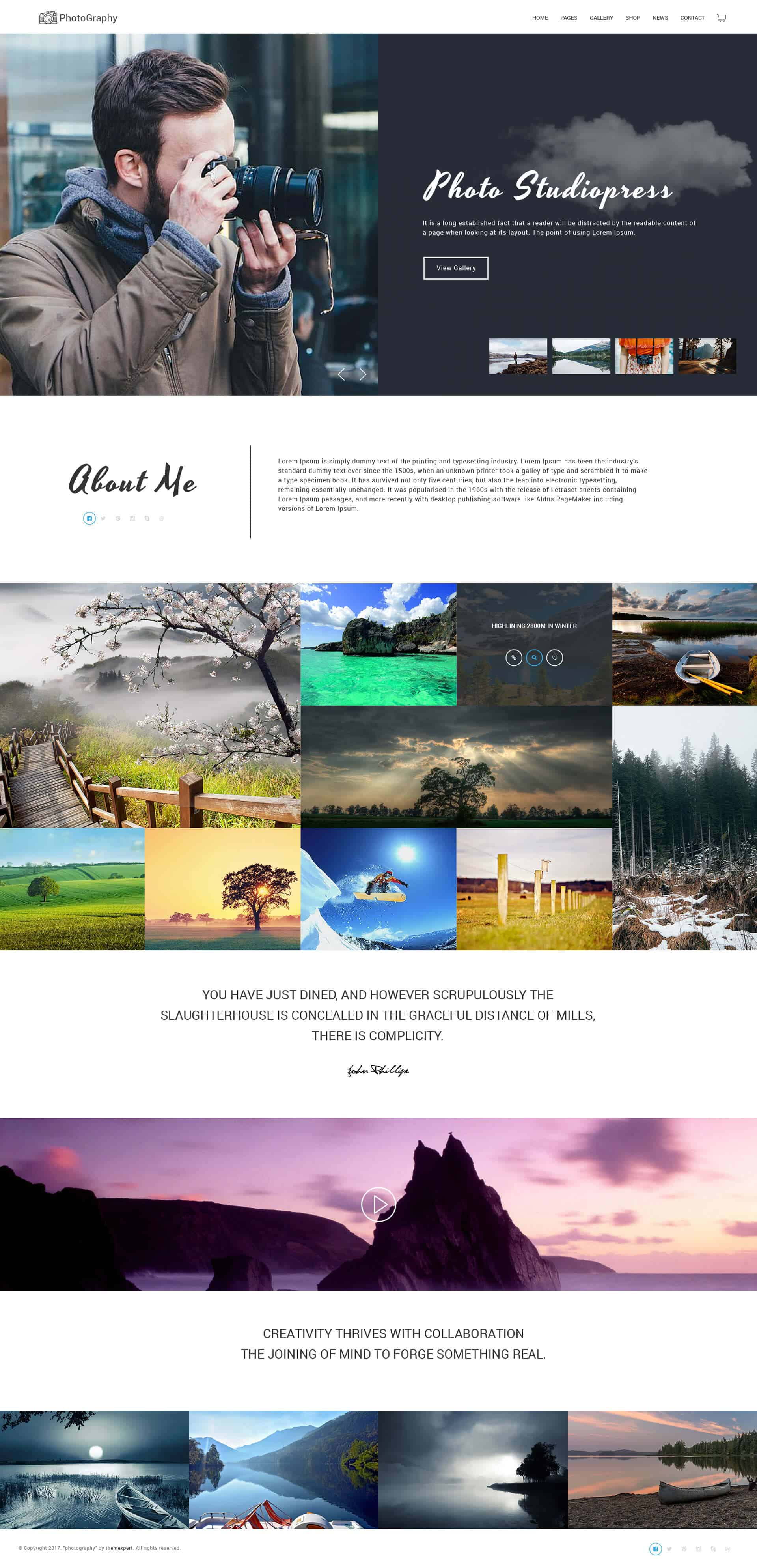 Photography Template Free Download 1