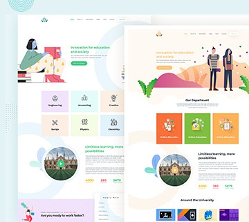 Best Free PSD Website Templates 2